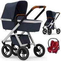 Wózek 3w1 DUBATTI ONE + fotelik Maxi Cosi CABRIO FIX