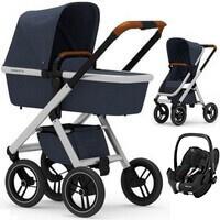 Wózek 3w1 DUBATTI ONE + fotelik Maxi Cosi PEBBLE PRO