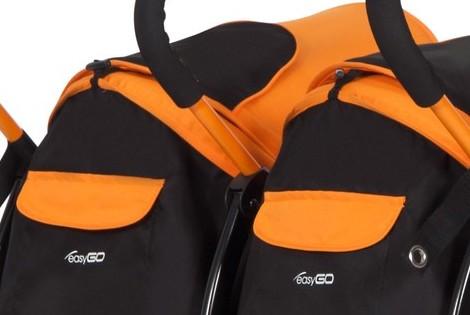 Easygo Duo Comfort bliźniak wózek