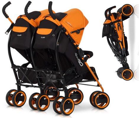 Wózek bliźniaczy Duo Comfort