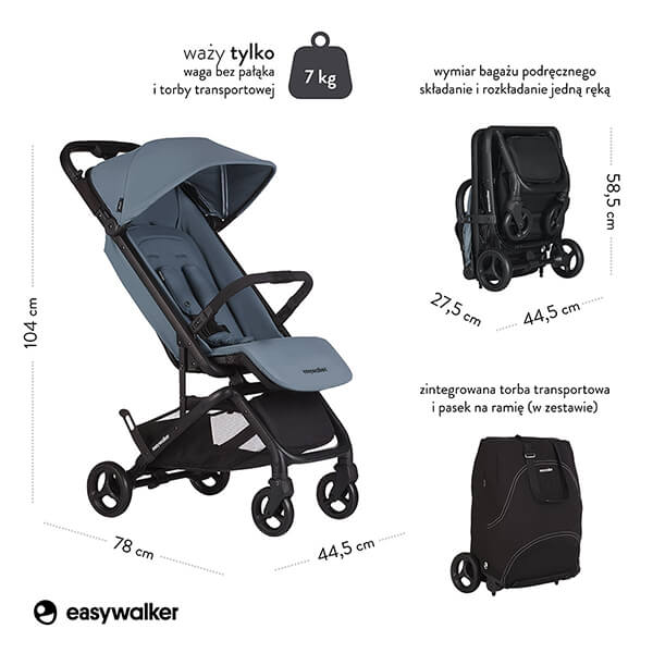 Wózek spacerowy Easywalker MILEY 2