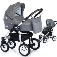 Wózek dziecięcy 2w1 EMJOT MIYO TRENDY + torba