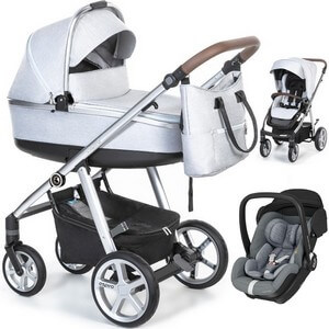 ESPIRO NEXT 2.1 AVENUE wózek 3w1 z fotelikiem MAXI COSI MARBLE