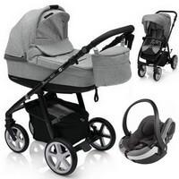 Wózek 3w1 ESPIRO NEXT FLOW + fotelik BeSafe iZi GO Modular I-Size + torba
