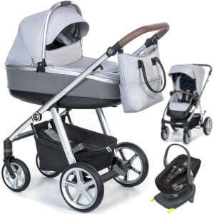 Wózek dziecięcy 3w1 ESPIRO NEXT MANHATTAN + fotelik Swandoo ALBERT