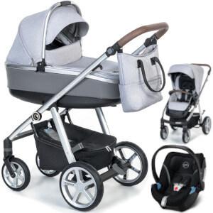 Wózek 3w1 ESPIRO NEXT MANHATTAN + fotelik Cybex ATON 5
