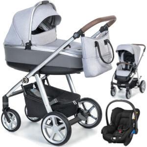 Wózek 3w1 ESPIRO NEXT MANHATTAN + fotelik Maxi Cosi CITI