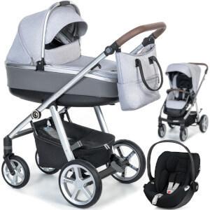 Wózek 3w1 ESPIRO NEXT MANHATTAN + fotelik Cybex CLOUD Z I-SIZE