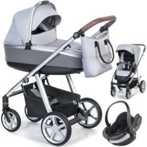 Wózek 3w1 ESPIRO NEXT MANHATTAN + fotelik BeSafe IZI GO MODULAR I-SIZE