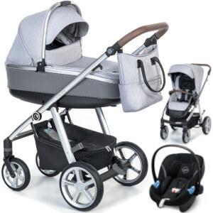 Wózek 3w1 ESPIRO NEXT 2.0 MANHATTAN + fotelik Cybex ATON M i-Size