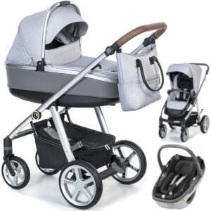 Wózek 3w1 ESPIRO NEXT 2.0 MANHATTAN + fotelik Maxi Cosi CORAL