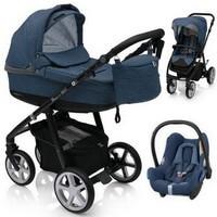 Wózek 3w1 ESPIRO NEXT FLOW + fotelik Maxi Cosi CABRIO FIX + torba