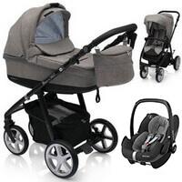 Wózek 3w1 ESPIRO NEXT FLOW + fotelik Maxi Cosi PEBBLE PRO + torba