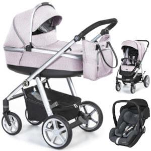 ESPIRO NEXT 2.1 MELANGE wózek 3w1 z fotelikiem Maxi Cosi MARBLE