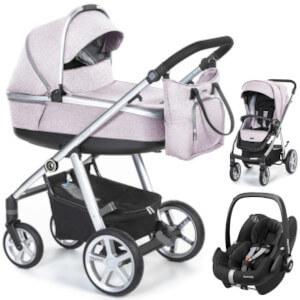 ESPIRO NEXT 2.1 MELANGE wózek 3w1 z fotelikiem MC PEBBLE PRO
