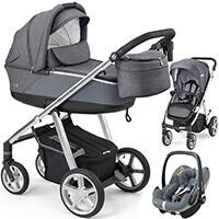 Wózek 3w1 ESPIRO NEXT SILVER + fotelik Maxi Cosi PEBBLE PRO