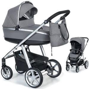 Wózek dziecięcy 2w1 ESPIRO NEXT SILVER + torba