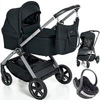 Wózek 3w1 Espiro ONLY + fotelik BeSafe iZi GO MODULAR i-Size