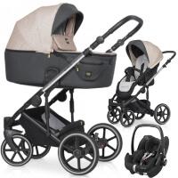 Wózek 3w1 Expander EXEO + fotelik Maxi Cosi PEBBLE PRO