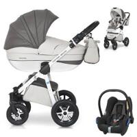 Wózek 3w1 EXPANDER MONDO ECCO + fotelik Maxi Cosi CABRIO FIX