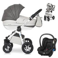 Wózek 3w1 EXPANDER MONDO ECCO + fotelik Maxi Cosi CITI