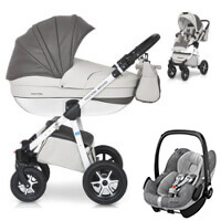 Wózek 3w1 EXPANDER MONDO ECCO + fotelik Maxi Cosi PEBBLE PRO
