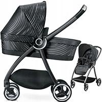 Wózek dziecięcy 2w1 GB MARIS Lux Black - wyprzedaż!