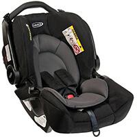 Fotelik samochodowy GRACO SNUGFIX dla dzieci 0-13kg