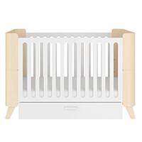 Łóżeczko dziecięce 70x140 z szufladą BELLAMY HOPPA rozsuwane do 70x160