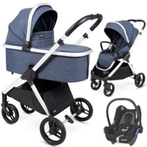 Wózek 3w1 Insevio DOLPHIN + fotelik Maxi Cosi CABRIO FIX