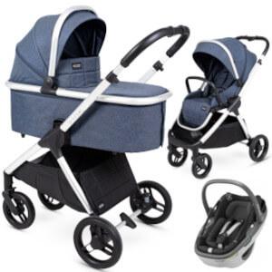 Wózek 3w1 Insevio DOLPHIN + fotelik Maxi Cosi CORAL