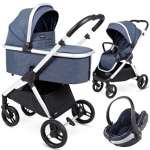 Wózek 3w1 Insevio DOLPHIN + fotelik BeSafe iZi GO MODULAR i-Size