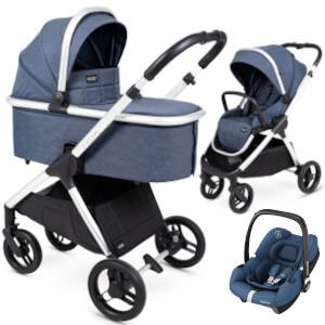 Wózek 3w1 Insevio DOLPHIN + fotelik Maxi Cosi TINCA