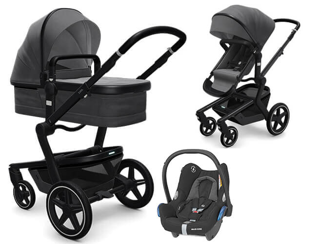 Wózek 3w1 JOOLZ DAY 3 EARTH + fotelik Maxi Cosi CABRIO FIX