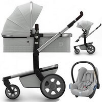 Wózek 3w1 JOOLZ DAY 3 QUADRO + fotelik Maxi Cosi CABRIO FIX