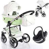 Wózek 3w1 Junama CANDY + fotelik BeSafe iZi GO MODULAR i-Size