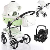 Wózek 3w1 Junama CANDY + fotelik Maxi Cosi PEBBLE PRO
