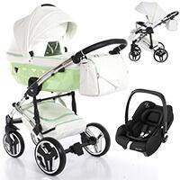 Wózek 3w1 Junama CANDY + fotelik Maxi Cosi TINCA