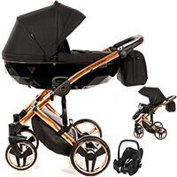 Wózek 3w1 Junama DIAMOND INDIVIDUAL + fotelik Maxi Cosi PEBBLE PRO