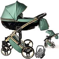 Wózek 3w1 Junama FLUO LINE + fotelik Maxi Cosi PEBBLE PRO