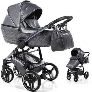 JUNAMA GLITTER wózek dziecięcy 2w1