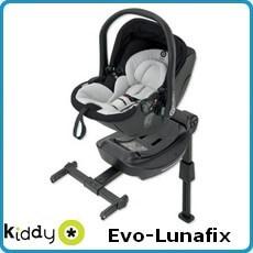 Kiddy fotelik samochodowy Evo Lubafix dla dzieci 0-13kg