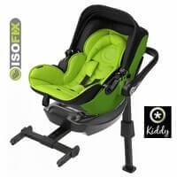 Fotelik samochodowy KIDDY EVOLUTION PRO 2 + baza ISOFIX dla dzieci o wadze 0-13 kg