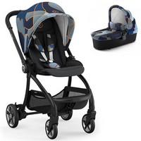 Wózek dziecięcy 2w1 KIDDY EVOSTAR LIGHT 1 Grey Melange