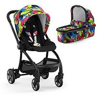 Wózek dziecięcy 2w1 KIDDY EVOSTAR LIGHT 1 STREET JUNGLE