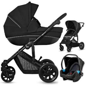 Wózek 3w1 Kinderkraft PRIME LITE 3w1 z fotelikiem MINK
