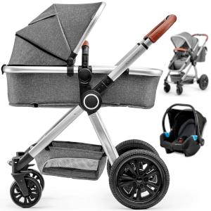 Wózek 3w1 Kinderkraft VEO + fotelik MINK