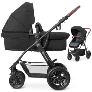 KINDERKRAFT XMOOV wózek 3w1 z fotelikiem MINK