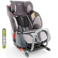 Fotelik samochodowy KLIPPAN TRIOFIX RECLINE dla dzieci o wadze 9-36 kg + baza ISOFIX / na pasy