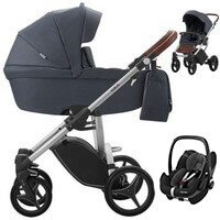 Wózek 3w1 BEBETTO LUCA + fotelik Maxi Cosi PEBBLE PRO + torba